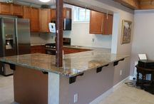 Netuno Bordeaux Granite Countertop Installation in Paterson, NJ