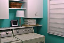 Laundry room ideas / Random ideas