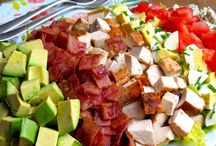 Salad Recipes from Too Precious For Processed / Clean eating salads