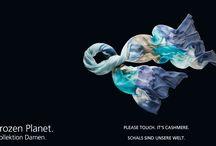 """Frozen Planet Damen 2014 / Das feminine Trendthema nimmt die Trägerinnen mit auf eine Reise in ein zauberhaftes """"Winter Wonderland"""". Schneeflocken, Eiskristalle, gefrostete Flora und die Polar-Fauna werden als Foto- oder Conversational-Prints gekonnt in Szene gesetzt."""