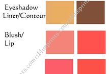 Spring Seasonal Color Analysis / Clear, Warm and Light