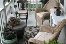 My gardern balcony/ terrace