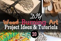 Wood Burning Projects & Ideas