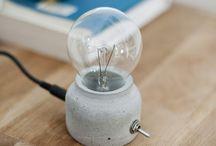 cementova lampa