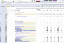 Budget excel sheets