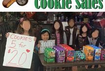 Girl Scout Cookie Sales
