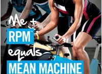 RPM / Indoor cycling is the best workout to burn a ton of calories in a short amount of time / by Paula Smith