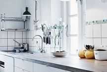 Scnadinavian kitchens / Lovely kitchens from www.lovingit.pl