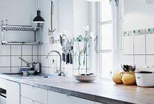 Scnadinavian kitchens / Lovely kitchens from www.lovingit.pl