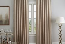 Favorite Burlap Curtains + Window Treatments / Affordable burlap curtains, window treatment ideas, curtains ideas that will work in space.