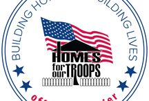 Homes for Our Troops / Budget Blinds has partnered with national non-profit, Homes For Our Troops, to provide window coverings in specially adapted, mortgage-free homes for severely injured Veterans who served in Iraq and Afghanistan.  / by Budget Blinds - Official