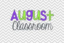 August  In The Classroom