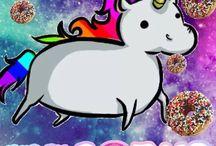 Les licornes le retour !!! / Le retour des licornes avec un nouveau tableau,le premier étais pas top top!!!