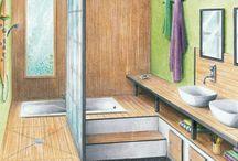 salle de bain pour le morin