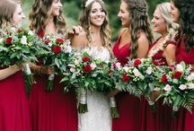 February wedding colours