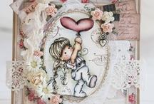 magnolia creations / Beautiful creations using Magnolia Tilda and Edwin stamps