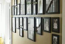 Photo Décoration / Quelques idées prises ici ou là pour mettre vos photos en valeur dans votre intérieur.