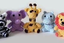 animales a crochet
