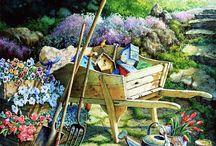 Садово-огородное в живописи