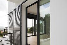 Okiennice / Rożne okiennice zewnętrzne - wewnetrzne