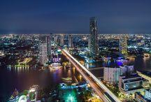 Bangkok Neighborhoods / Pictures from various neighborhoods in Bangkok, Thailand.