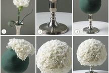 White wedding / esküvői dekorációs és virágkötészeti ötletek fehér színben