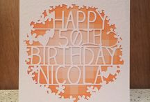 Greetings Cards / Our range of beautiful papercut cards to celebrate every special occasion