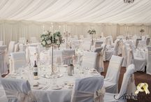 Wedding Marque Styling / Are you looking for inspiration for your marque styled wedding - Ambience Venue Styling has a selection of pins available for you to see how we could style your venue