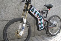 Ebike / Ebikes designed and manufactured by us+ other people