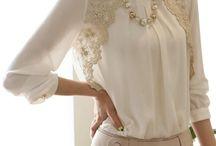 bluze dantelă