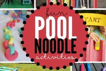 Pool noodles ideas