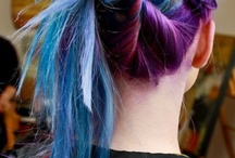 Blue hair / by Meredith Edwards-Cornwall