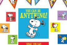 Snoopy stuff / by Rhonda Gollhardt