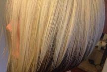 blond účesy