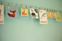 Ideas for hanging on the walls