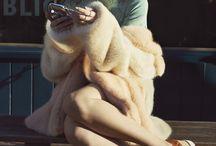 Fur coat in summer