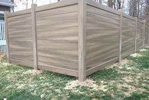Vinyl Fencing / New Privacy Fence