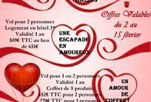 Valentine's Day  / Saint Valentin / Sales for Valentine's Day / Promotions pour la St Valentin
