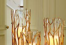 golden decorations