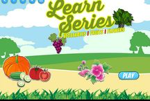 Learn Vegetables, Fruits, Flowers / Learn Vegetables, Fruits, Flowers. is one of the best free educational games available in the Play Store. Our app designed to help your kids learn names of fruits, vegetables and flowers. Each educational item is represented with colourful image and human voice-over.