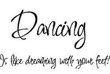 never miss a chance to dance :)