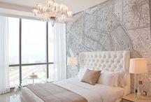 Bedroom Inspiration / Ideas for your next redesign #inspiration #lighting #walllights #pendants #fairylights