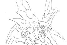 Ben 10 coloring book / Ben 10 coloring pages