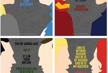 Superheros! / by Sarah Katharine