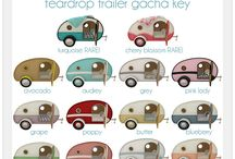 Camping - Teardrop trailers / by Wendy L
