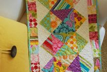 Table runners and mini quilts