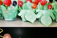 Minhas festas / Decoração simples e caseiras para aniversário e mesversário