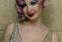 Flapper Girl Hair and Make-up