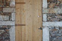 OUVERTURES EN PIERRE / Stone door / Linteau, jambage, seuil..... pour réaliser de belles portes ou fenêtres en pierre