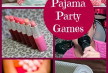 Pajama Party - Amandalynn turns 9 / by Charlotte Coetzee